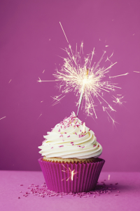 fact: i would rather feel like a sparkling birthday cupcake than eat one.